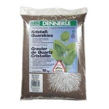 Dennerle Kristall-Quarz темно-коричневый 5 кг