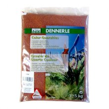 Dennerle Color Quartz Gravel оранжевый 5 кг