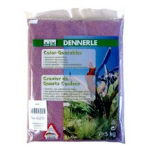 Dennerle Color Quartz Gravel фиолетовый 5 кг