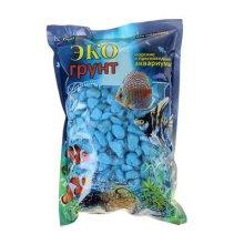 Грунт мраморная крошка голубая 1 кг
