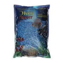 Грунт мраморная крошка синяя 1 кг